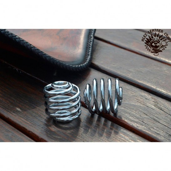 "Bobber Chromed 2"" (50 mm) seat spring"