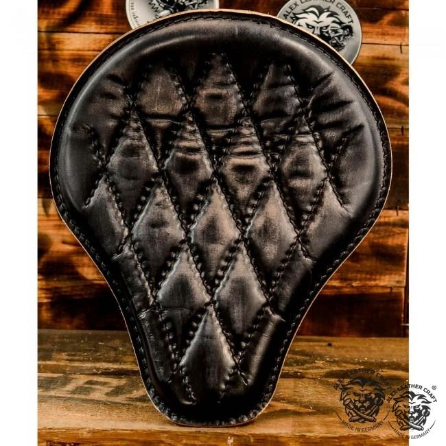 "Universal Bobber Seat ""Vintage Black"" Diamond XS/1, model A (Warehouse Sale)"