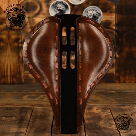 "Universal Bobber Seat ""Long"" 4Fourth Buffalo Brown S, model A (Warehouse Sale)"