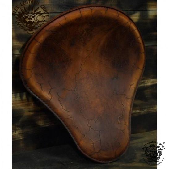 "Universal Bobber Seat ""Vintage Brown Electro"" M, model B (Warehouse Sale)"