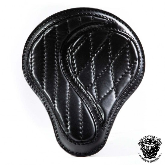 "Universal Bobber Seat ""No-compromise"" Black S, model A (Warehouse Sale)"