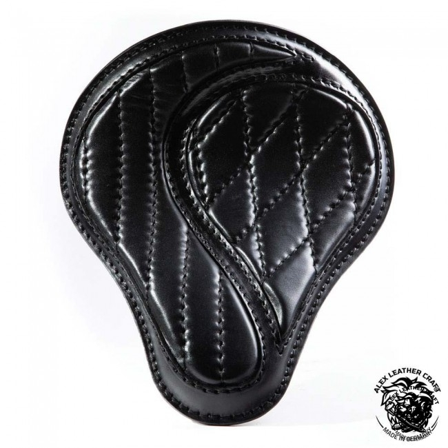 "Universal Bobber Seat ""No-compromise"" Black S, model A (Warehouse Sale)"