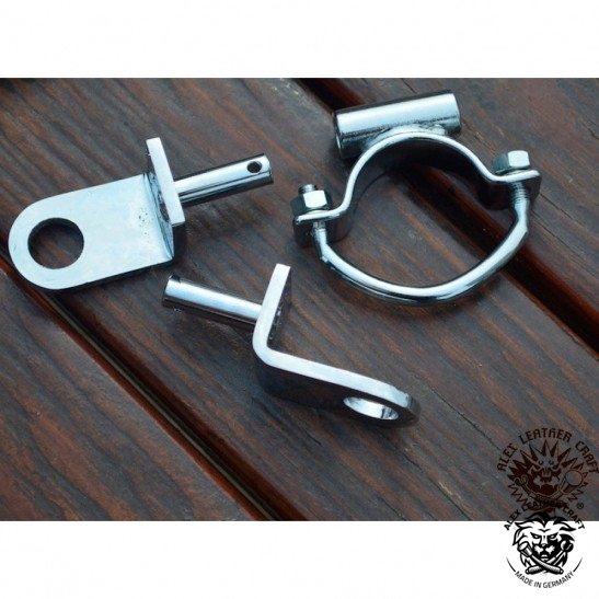 Chrome Solo Seat Bracket Kit Fits Harley Davidson Shovel