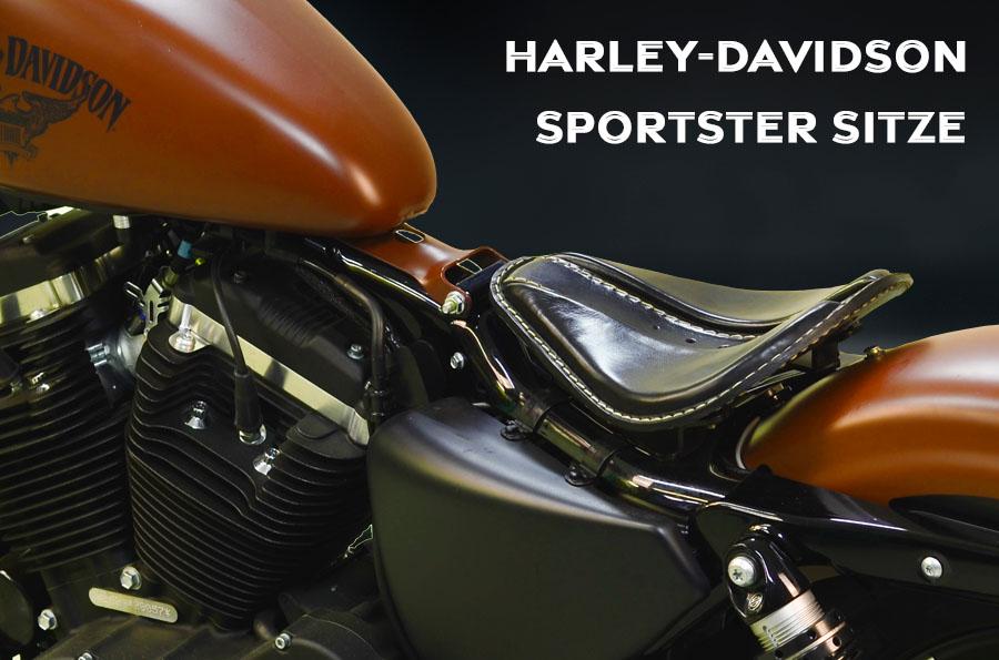 Sitze für HD Sportster ab 2004 bis 2020