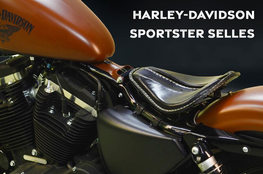Selles pour HD Sportster de 2004 à 2020