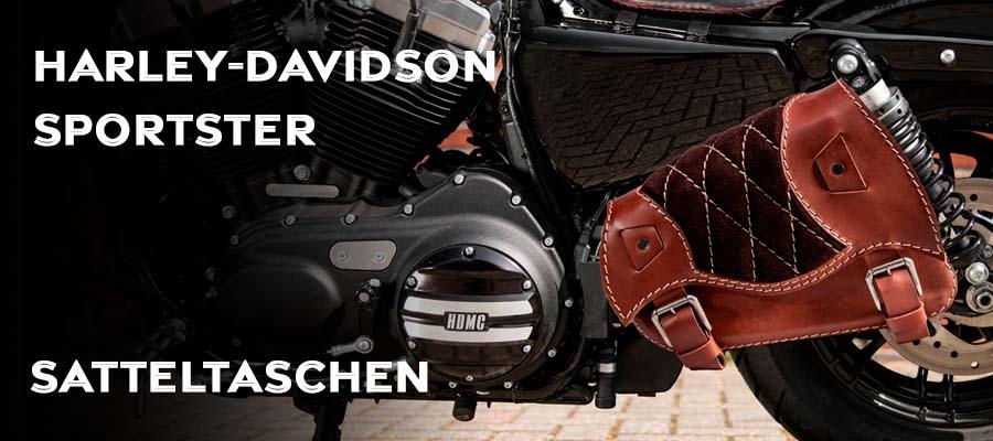 Satteltaschen für Harley Davidson Sportster