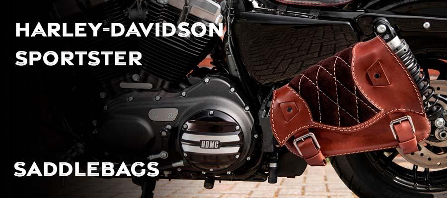 Saddlebags for Harley Davidson Sportster