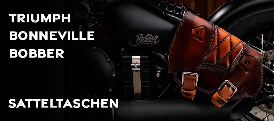 Satteltaschen für Triumph Bonneville Bobber