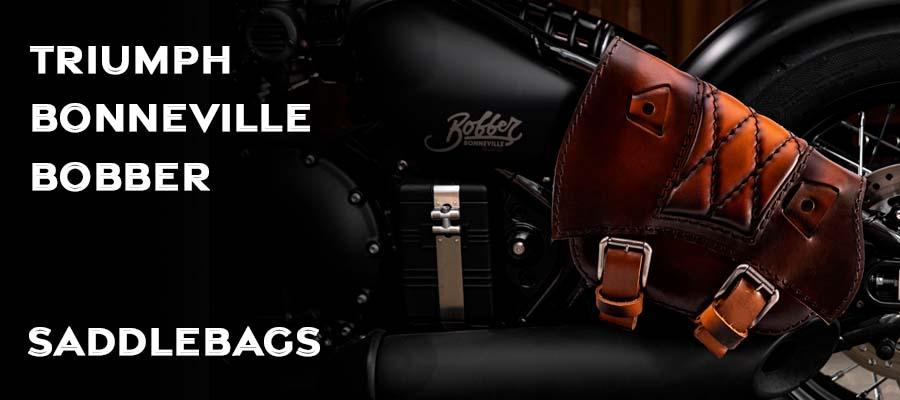 Saddlebags for Triumph Bonneville Bobber