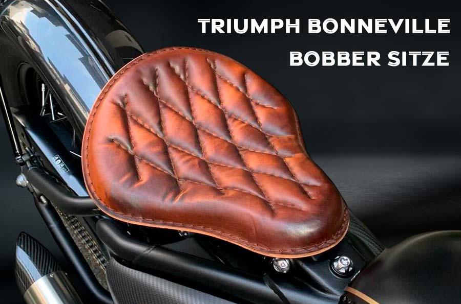 Sitze für Triumph Bonneville Bobber, Bobber Black, Speedmaster ab 2016