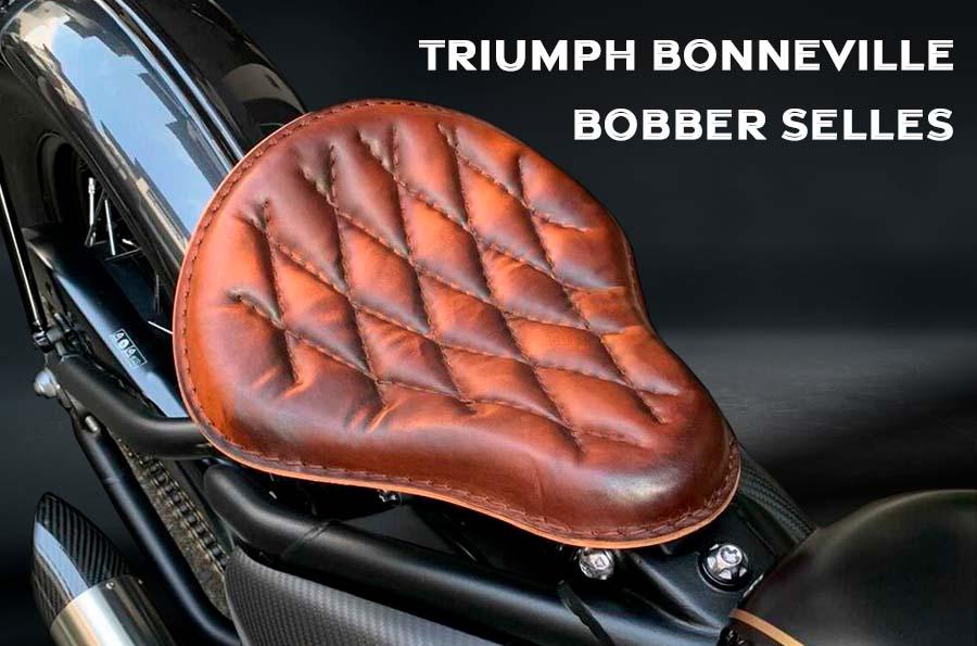Selles pour Triumph Bonneville Bobber, Bobber Black, Speedmaster de 2016